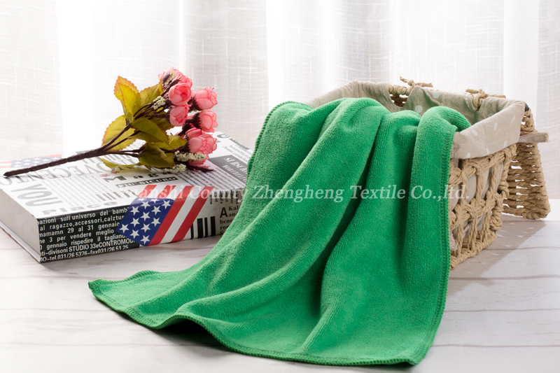 Weft Knitting Microfiber Towel-011