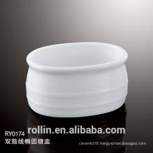 2015Find Complete Details Hotel Used Ceramic Oval Sugar Basin,Sugar Pot,Sugar Jar