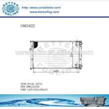 Radiador de aluminio para VOLKSWAGEN Jetta 93-94 1HM121253G