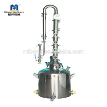 "2"" 3"" 4"" 6""Stainless Steel modular bubble plates reflux moonshine Distillation Column"