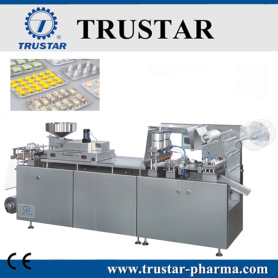 High speed blister packing machine