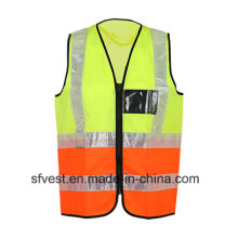 New Fashion High -Visibility Reflective Safety Vest Orange and Yellow Joint