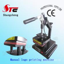 CER Manual Logo Heat Presse Maschine T-Shirt Logo Wärmeübertragung Maschine T-Shirt Mark Druckmaschine Stc-Tb01