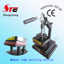 CE Manual Logo Heat Press Machine T-Shirt Logo Heat Transfer Machine T-Shirt Mark Printing Machine Stc-Tb01