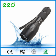 Hot Led Flashlight XML T6 puissante torche rechargeable G700 Police Tactical Flashlight