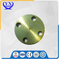DIN blank pipe fitting flange