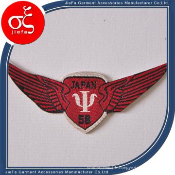 Emblème tissé par coutume de prix usine, pièce rapportée et insigne