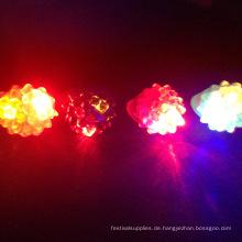 3 Farben Licht Gummi blinkender Ring