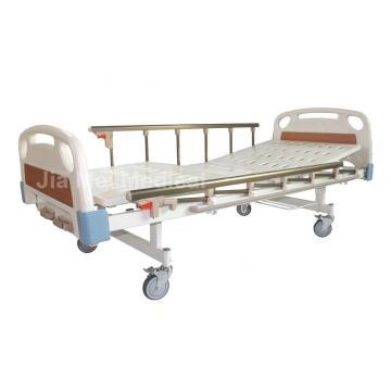 2 Cranks Manual Hospital Bed