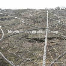 SNS corda compensação inclinação proteção rede queda queda fio corda rede rockfall