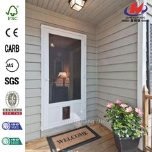 Reversible Wood/Solid Vinyl Screen Door
