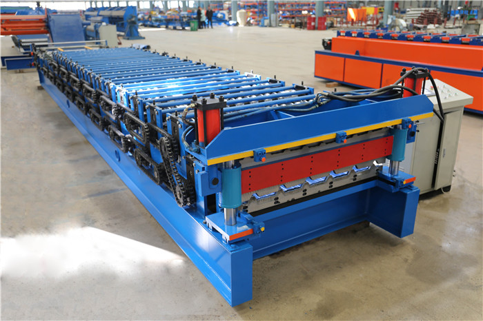 2 Layer Roofing Machine1