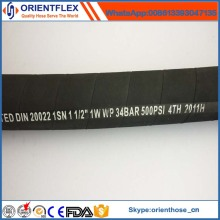 Factory Wholesale Rubber Hydraulic SAE 100r1 Hose
