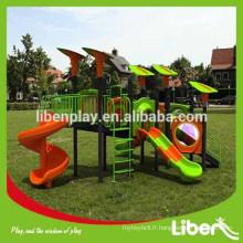 2014 Structure de terrain de jeux pour enfants en plein air avec certificat ISO9001 Certifié de qualité