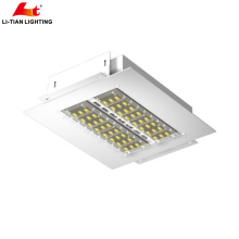 Best price of led canopy lights for gas station 100W 150 w 200w
