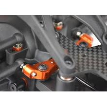 Motorradlenkungs- und Getriebesystem