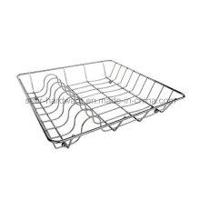 Estante de plato de acero inoxidable (SE-5654)