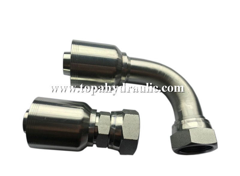 Hose connectors hydraulic copper flexible hose fittings