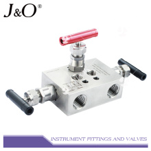 Stainless Steel Drain Instrument Valve Manifold