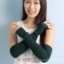 hohe Qualität weichen Touchscreen Frau lange Wolle Handschuhe