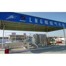 Vaporizador Ambiental para LNG Filling Skid