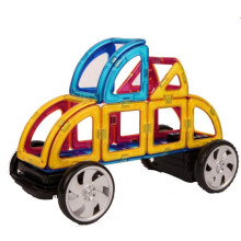 Construction building children's educational innovation plastic magnetic blocks the development of imagination