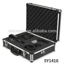 strong aluminum case for camera with Removable Diced Foam inside suitable for any sizes of contents