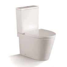 Toilette en céramique à deux pièces 1210A avec housse PP