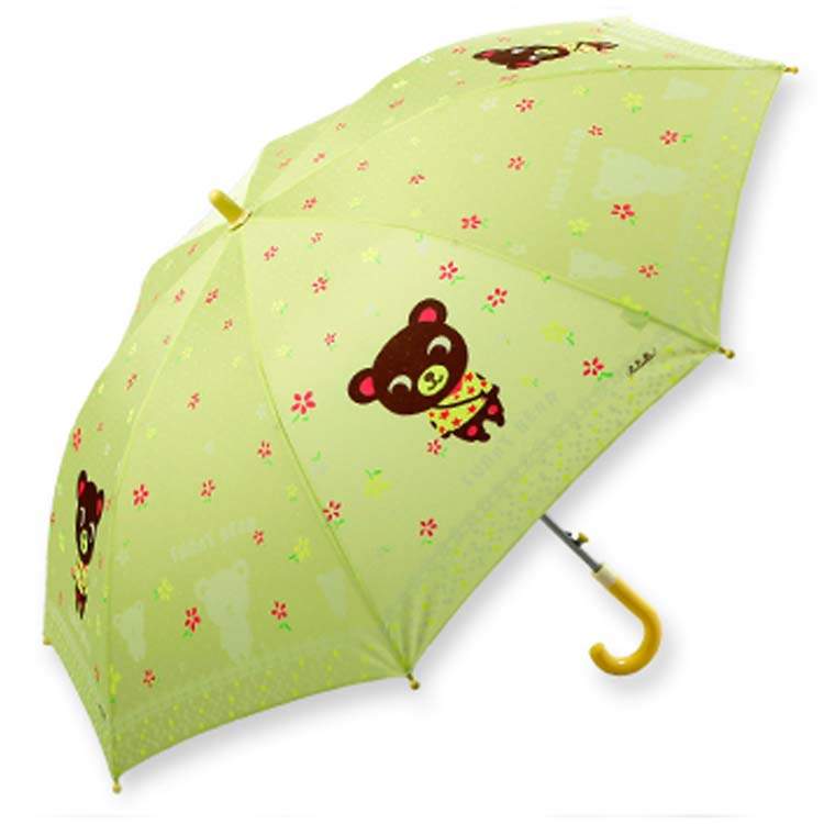 Semi-Auto environmental EVA kids umbrella02