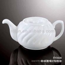 Gesunder, langlebiger weißer Porzellan-Ofen sicherer Saftkrug mit Deckel