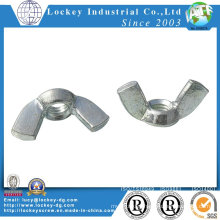 Carbon Steel Wing Nut Zinc Plated