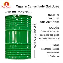 200kg Organic Concentrate Goji Juice
