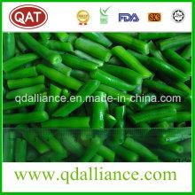 Frijoles verdes congelados Frijol verde cortado IQF