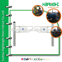 electric Entrance Pedestrian Control Swing Barrier