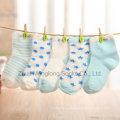 Cuted garoto colorido algodão meias de boa qualidade com bom preço