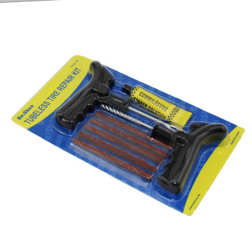 Motorcycle Car Tubeless Tire Tyre Puncture Plug Quick Repair Kit Tool