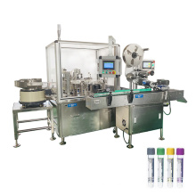 GMP Standard 15ml test tube filling line,10ml conical test tube filling capping machine