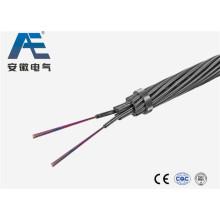 Cable de fibra óptica / Cable de fibra óptica Opgw (OPGW)
