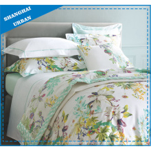 Frühling Grüner Garten Polyester Bettbezug Set