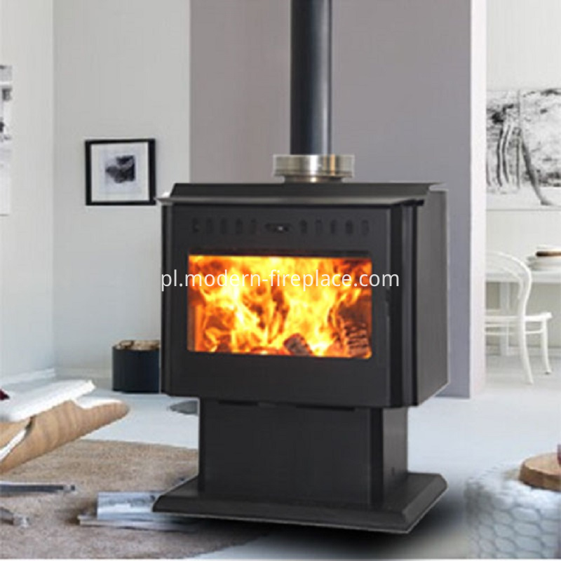 Free Standing Wood Burning Fireplace