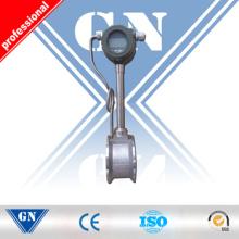 Medidor de flujo de vertido de aire / gas Vortex en la batería