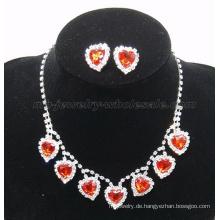2014 neue trendige gefälschte Edelstein Glas Stein Halskette