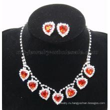 2014 новые модные поддельный драгоценный камень стекло камень ожерелье