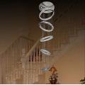 villa led chandelier round rings chandelier light