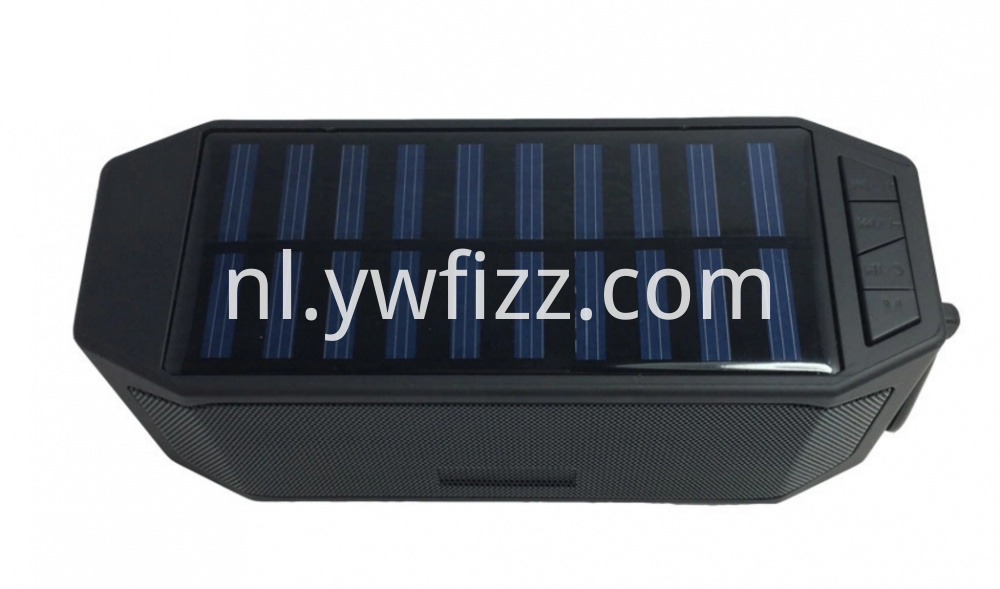 Customizable Solar Speakers