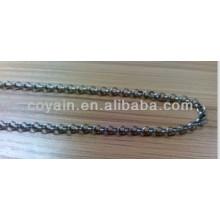 China alibaba aço inoxidável jóia colar de corrente