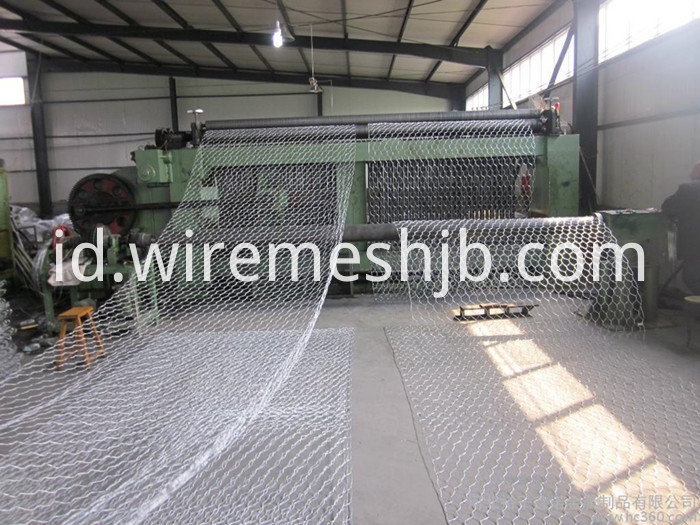 Galvanized Hexagonal Gabion Mattress