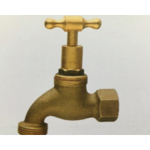 Manual surface cooper sand blasting brass water bibcock tap