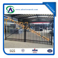 Powder Coated Welded Steel Fence