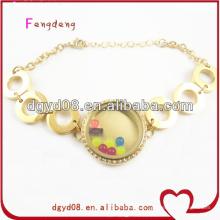 Vente chaude en acier inoxydable bracelet / gros bracelet extensible / bracelet de mode